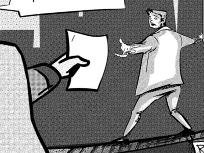 Comic explainer for business - wip explainer editorial art advertising comic storytelling visual content charactedesign artwork illustration digital artist