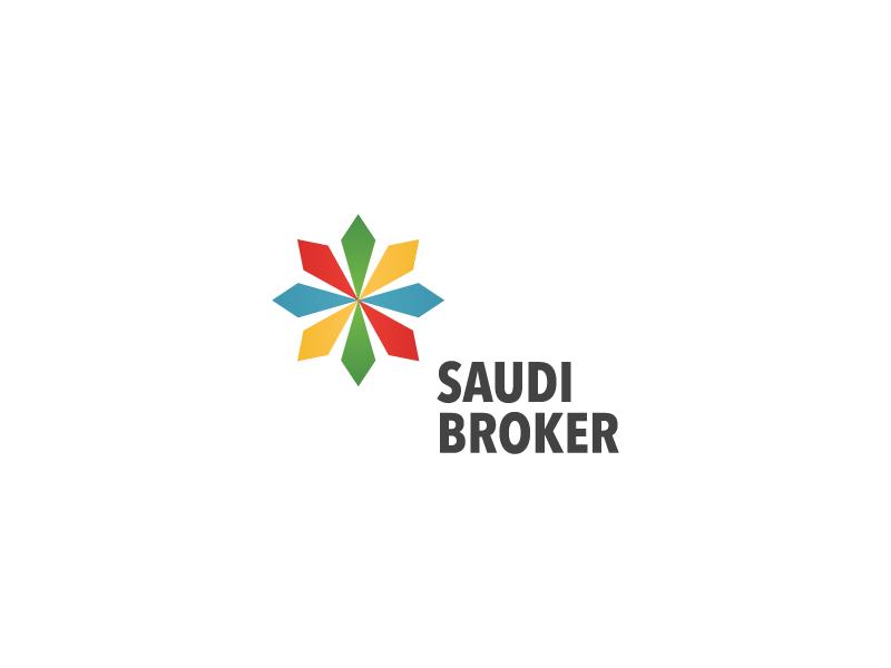 Saudi Broker Logo Design packaging stationery brand identity branding agency branding logofolio logo inspiration color graphic design designer design