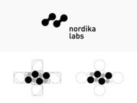 Golden Ratio in Nordika Labs Logo