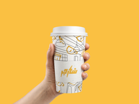 Charger Coffee Branding