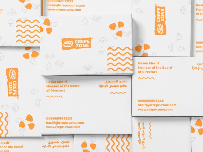 Crepe Zone Branding web app icon typography illustration logo design ux packaging design design graphic design stationery graphics agency branding agency behance packaging logofolio brand identity logo branding