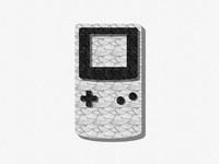 Gameboy gameboy illustration black and white