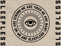 SLEEPLESS BADGE ICON