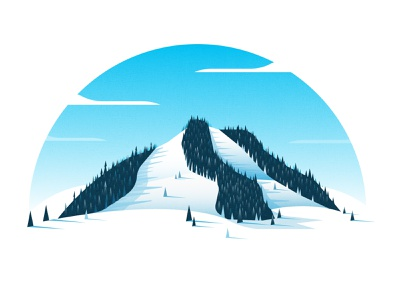 Slopes illustration slopes landscape mountain