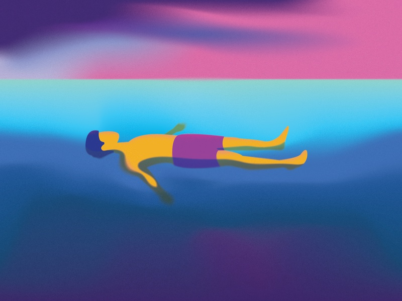 Meditation illustrator photoshop editorial illustration illustration