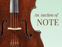 An Auction of Note