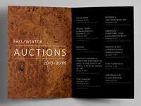Auction Trifold Brochure