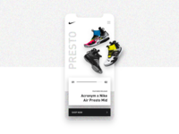 Mobile App - Nike Store Concept