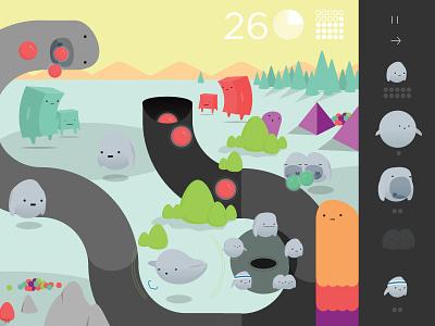 Game Art Direction character design illustration game design