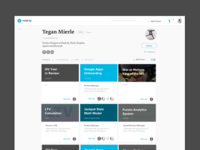 MadeBy Profile Page