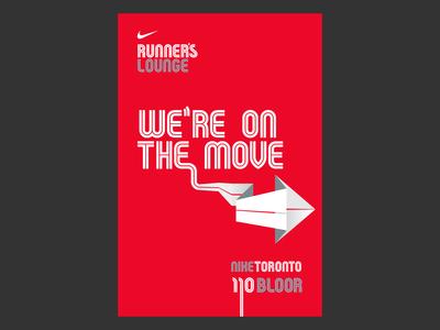 Nike Running Poster