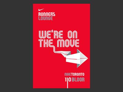 Nike Running Poster sports design poster