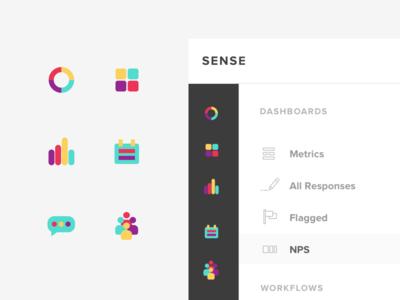 Sense Icon System