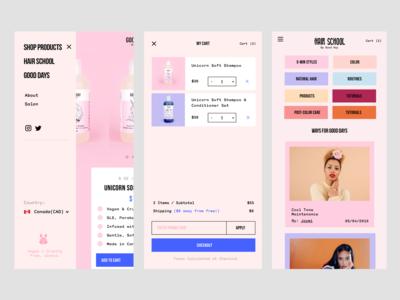 Mobile Web eCommerce