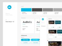Madeby Design System resume product design ui  ux web app design system ui