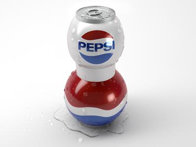 Future Pepsi! pepsi can future ben christie 3d model vray