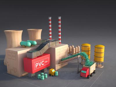 Block Factory wood blocks ben christie truck factory 3d design toy