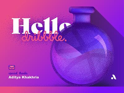 Grand Elixir of Accuracy shading illustrator grain vector potion elixir debut