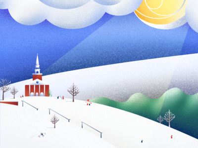 Monthly Illustration: February