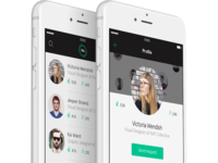 Networking app - Profile