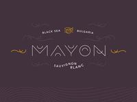 Wine Brand Idea: MAYON