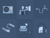 Home & Local Services Icons