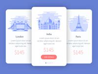 Tourism App Design