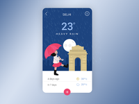 Weather Mobile App UI