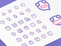 Line Icons for FALO