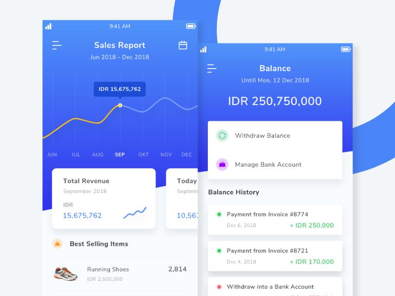 Dashboard Sales ui designer illustration ui app ui design dashboard admin dashboard admin