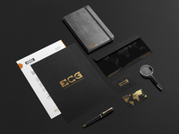 ECG brand identity