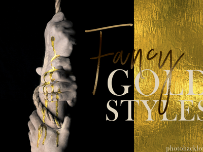 Photoshop Gold Styles Pack metallic gold photoshop gold foil style photoshop gold photoshop gold ore golden gold styles gold