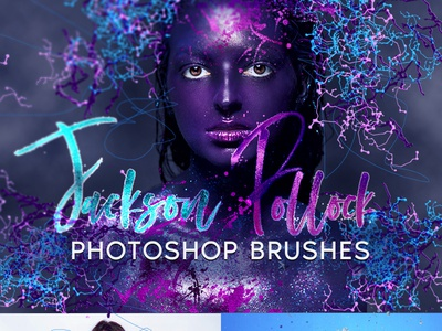 Jackson Pollock Photoshop Brushes creative background ink paint watercolor splatters splatter texture free photoshop brushes photoshop brush photoshop brushes jackson pollock