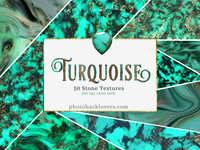 50 Turquoise and gold Textures
