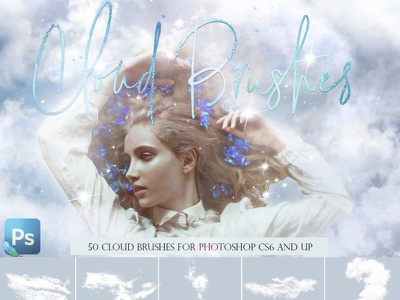 Aesthetic clouds brushes cloud brushes abr brushes aesthetic cloud sky overlay photoshop photoshop brushes