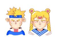 Naruto X Sailor Moon