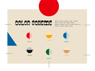 Color Scheme ui ux japan color colorscheme design composition typogaphy typeface