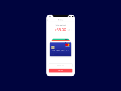 Daily UI 02  Credit Card Checkout