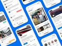 Beezy - iOS app revamp