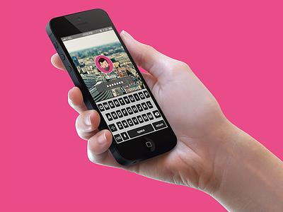 iOS 7 Lockscreen concept ios apple iphone ui lock screen concept flat