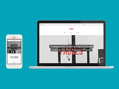 lesfauves.co fauves web design ui bandung indonesia