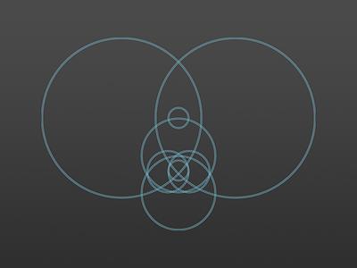 an icon design process icon rocket minimal process circle