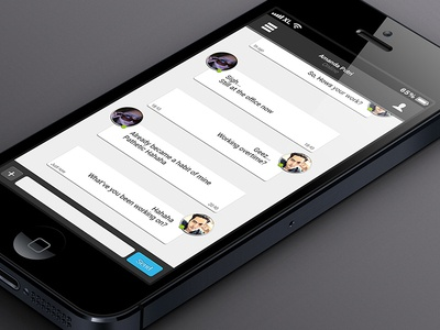 Talk for iOS conversation UI