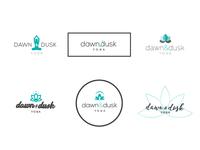 Dawn & Dusk Yoga // Logo concepts