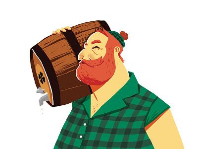 O'Born Evil beer beer illustration