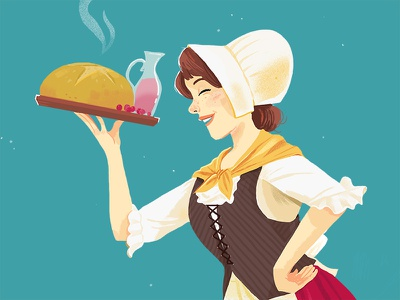 Innkeeper dd costume illustration