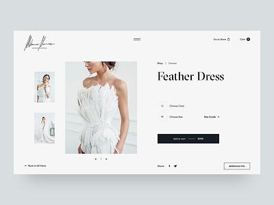 Mihano Momosa Product Page whitespace website typography design typo photograhy product video grid animation fashion slider layout minimal white black web