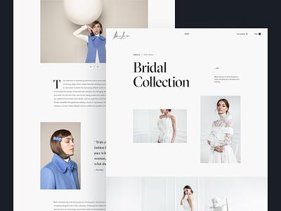 Mihano Momosa design grid layout minimal white black fashion typography web