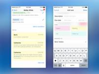 Clickhook iOS screens