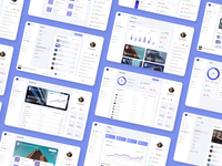 Project Ascent Dashboard ascent ui dashboard dashboard design dashboard ui overview tickets teams events player profile playlists content